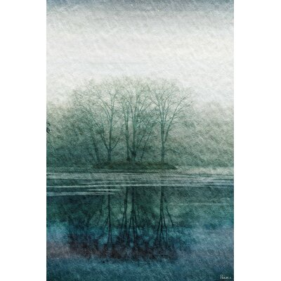 Apple Lake Painting Prints on Canvas