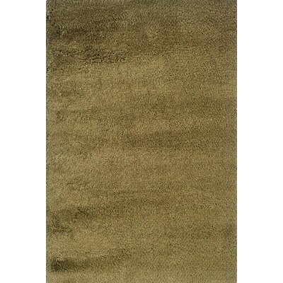 Loft Shag Green/Gold Rug