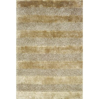 Fusion Shag Gold/Grey Rug