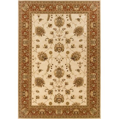 Oriental Weavers Sphinx Knightsbridge Ivory/Red Rug