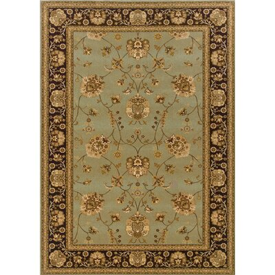Knightsbridge Blue/Brown Rug
