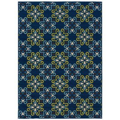 Caspian Blue/Green Indoor/Outdoor Rug