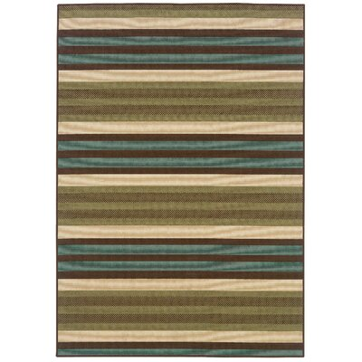 Oriental Weavers Montego Green/Blue Outdoor Rug
