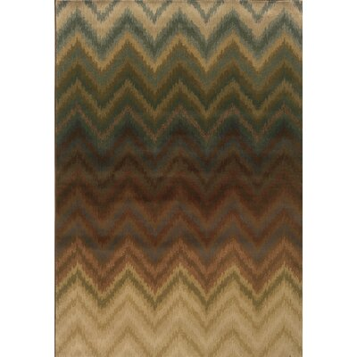 Hudson Brown/Multi Geometric Rug