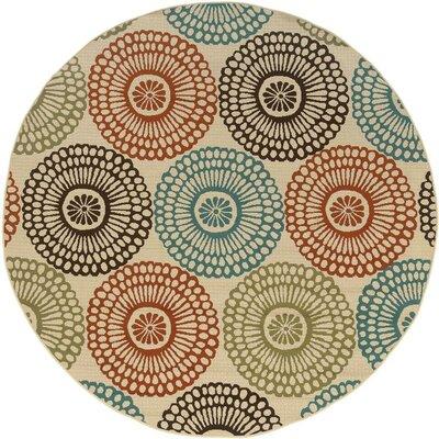 Oriental Weavers Montego Ivory Multi Indoor/Outdoor Rug