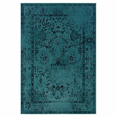 <strong>Oriental Weavers Sphinx</strong> Revival Teal/Gray Rug