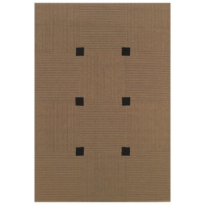 <strong>Oriental Weavers Sphinx</strong> Lanai Beige/Black Checker Rug
