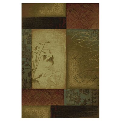 <strong>Oriental Weavers Sphinx</strong> Hudson Beige/Green/Red Rug