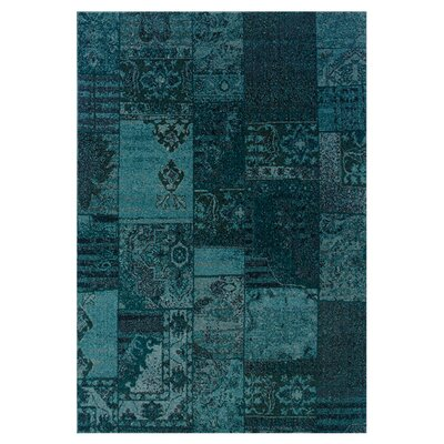 <strong>Oriental Weavers Sphinx</strong> Revival Teal/Gray Persian Rug
