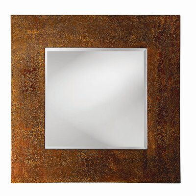 Howard Elliott Cassiday Wall Mirror in Mottled Bronze