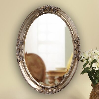 <strong>Howard Elliott</strong> Queen Ann Mirror - Antique Silver