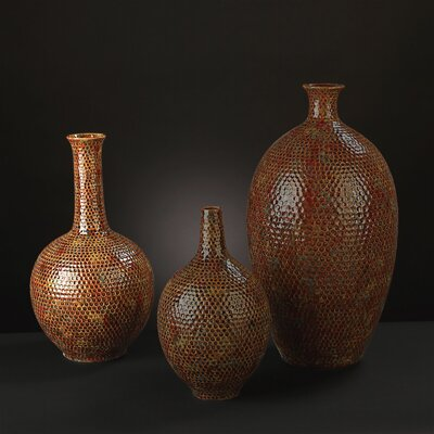 Medium Hammered Ceramic Vase