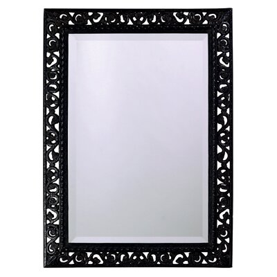 Bristol Wall Mirror in Black