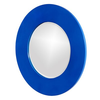 Howard Elliott Metallic Vail Mirror in Royal Blue