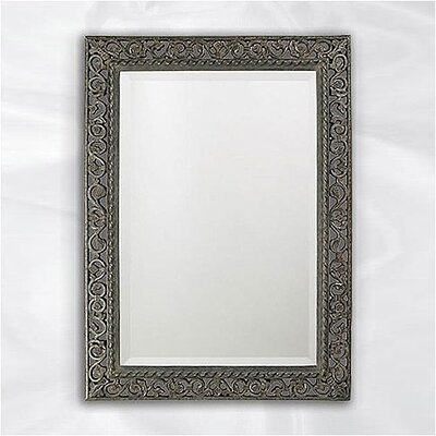 Howard Elliott Bristol Wall Mirror in Antique Black