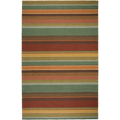 Rizzy Rugs Waverly Green Stripes Rug