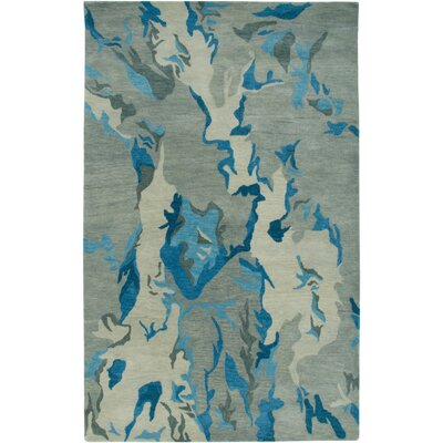 Rizzy Rugs Highland Gray/Blue Abstract Rug
