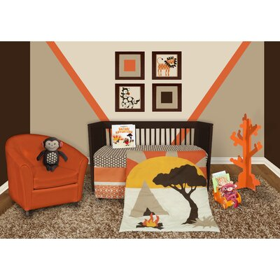 Snuggleberry Baby African Dream 5 Piece Crib Bedding Collection