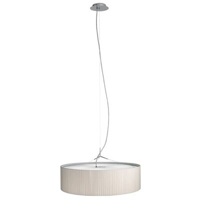 Plis 4 Light Drum Foyer Pendant