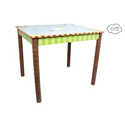 Fantasy Fields Sunny Safari Kids 3 Piece Table and Chair Set