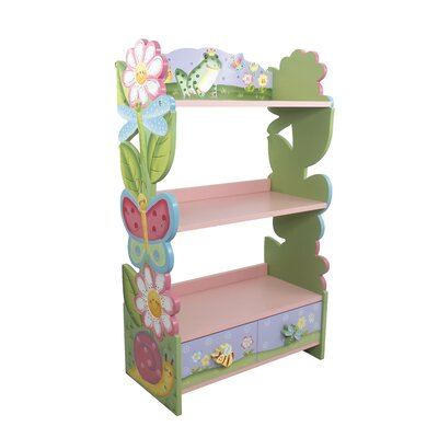 "Fantasy Fields Magic Garden 38"" Bookshelf"