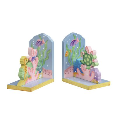 Fantasy Fields Under the Sea Book Ends