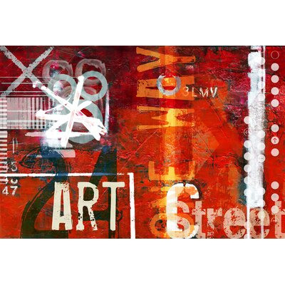 Art Street Graphic Art on Canvas