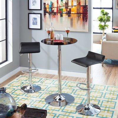 Zipcode Design Savannah Adjustable Backless Barstool
