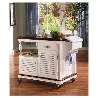 Wildon Home ® Clark Dale Kitchen Cart