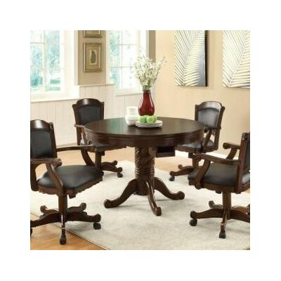 Wildon Home ® Atlantic Poker Table Set