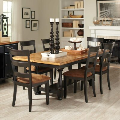 Wildon Home ® 7 Piece Fixed Top Dining Table Set