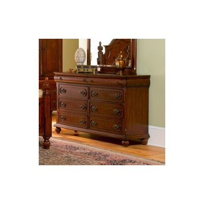 Isabella 6 Drawer Dresser