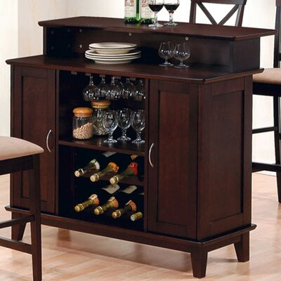 Wildon Home ® Derby Home Bar Set