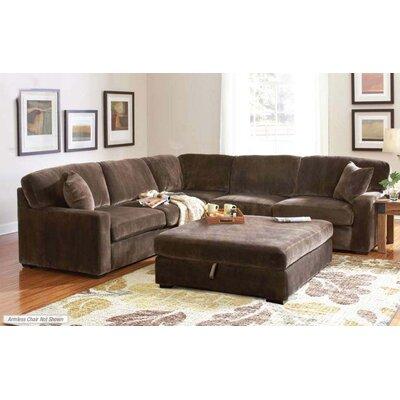 Wildon Home ® Bromley Velvet Sectional