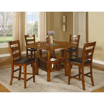 Wildon Home ® Kennebunkport 5 Piece Counter Height Dining Set