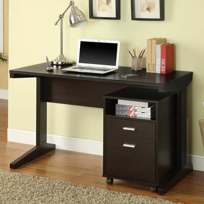 Wildon Home ® Standard Desk with File