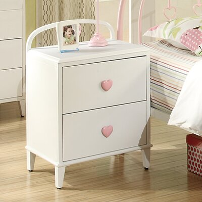 Wildon Home ® Romeo 2 Drawer Nightstand