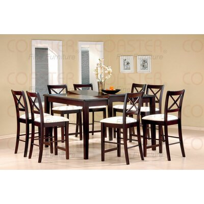 Wildon Home ® Kremmling 9 Piece Counter Height Dining Set