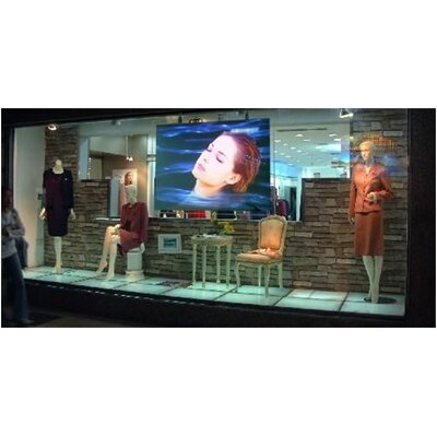 "Elite Screens Insta-RP Series Rear Projection Screen - 2.35:1 Format 151"" Diagonal"