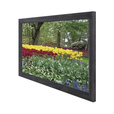"Elite Screens CineGray ezFrame Series Fixed Frame Screen - 106"" Diagonal"