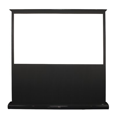"Elite Screens Kestrel Portable Electric MaxWhite FG 85"" Projection Screen in Black Case"