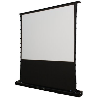 "Elite Screens Kestrel Portable Electric MaxWhite FG 92"" Projection Screen in Black Case"