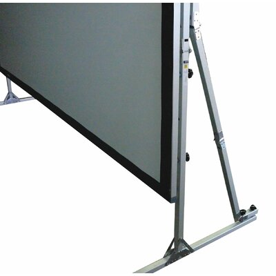 "Elite Screens QuickStand Series Cine White 250"" Projection Screen"