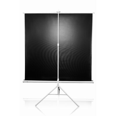 "Elite Screens Tripod Series MaxWhite 71"" Diagonal Portable Projection Screen"