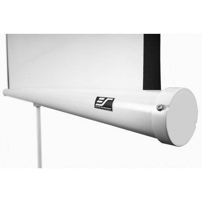 Elite Screens Portable Tripod Manual Pull Up Projection Screen