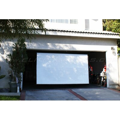 "Elite Screens Portable Outdoor DynaWhite  Projection Screen - 133"" 16:9 AR"