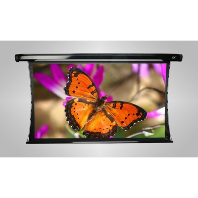 Elite Screens Acoustically Transparent Electric Projection Screen