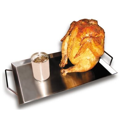 Texas Irons Double Barrel Chicken Cooker