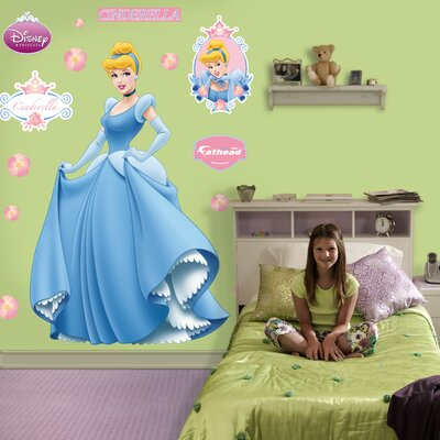 Fathead Cinderella Wall Graphic