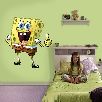 Fathead Nickelodeon SpongeBob SquarePants Wall Graphic